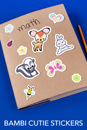 Bambi Cutie Stickers