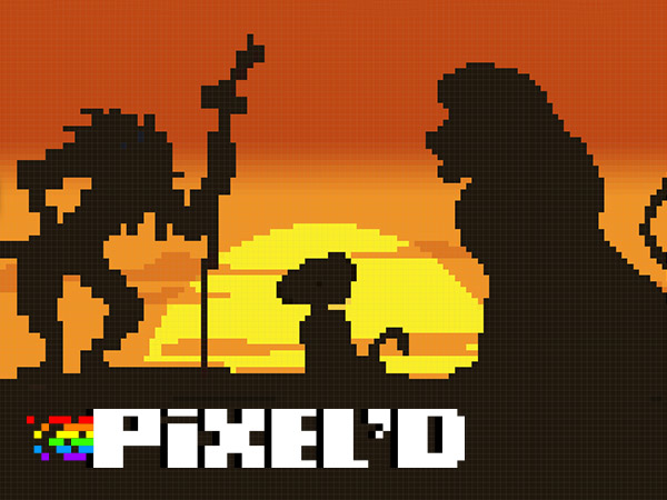 Pixel'd - Lion King