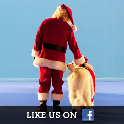 Santa Paws on Facebook
