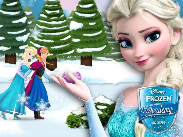 Patina sobre hielo con Frozen
