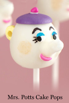 Beauty and the Beast - Cake Pops