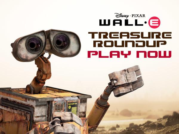 WALL-E - Treasure Roundup