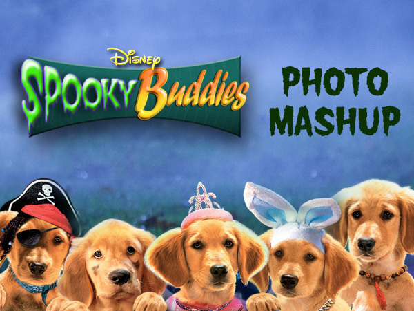 Spooky Buddies Photo Mashup