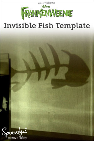 Invisible Fish Template