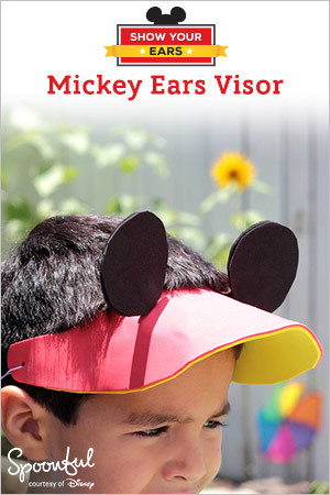 Mickey Ears Visor