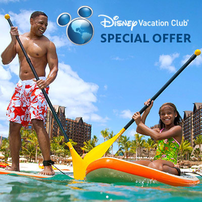 Disney Vacation Club Special Offers