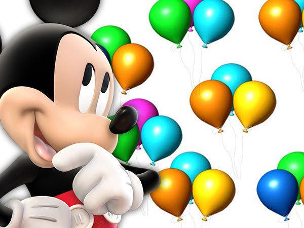 Balões do Mickey
