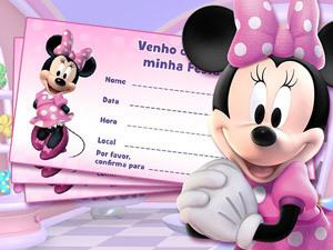 Convite da Festa da Minnie