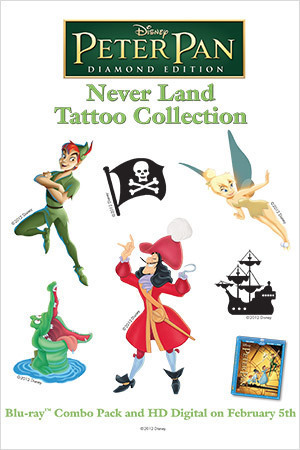 Peter Pan Activity: Tattoos
