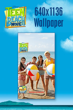 Teen Beach Movie Wallpaper - Beach Balls 640x1136