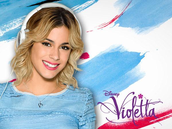Violetta på Disney Play