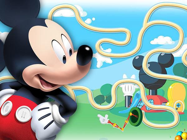 O Labirinto do Mickey