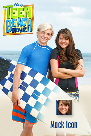Teen Beach Movie Icon - Mack