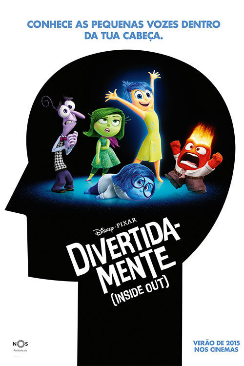 Inside Out - Divertida-mente