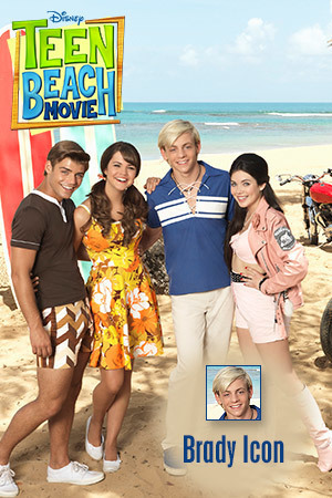 Teen Beach Movie Icon - Brady