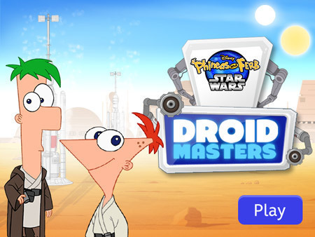 Phineas and Ferb Star Wars - Droid Masters