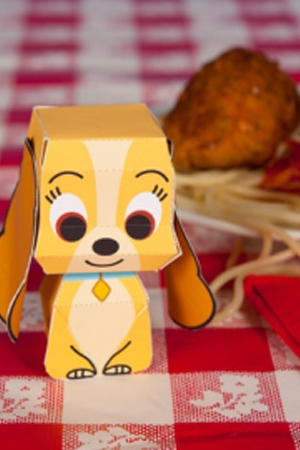 Lady and the Tramp Crafts & Recipes