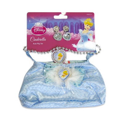 Cinderella Bag & Jewellery Set $9.95