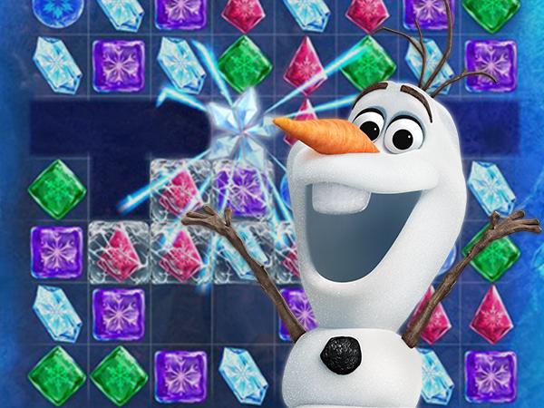 تساقط بلورات ملكة الثلج