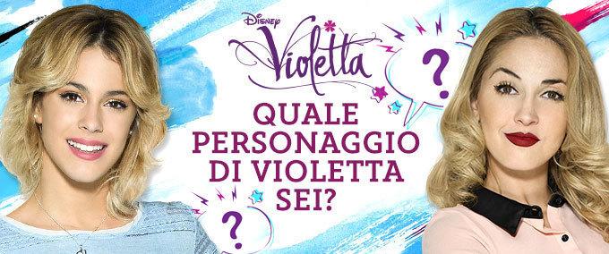 Il test di Violetta!