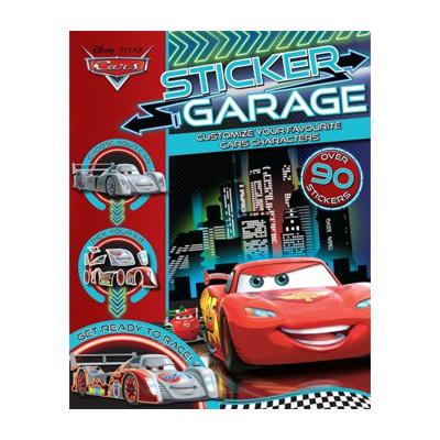 Cars Sticker Garage $10.95
