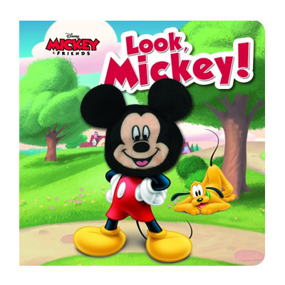 Look Mickey Finger Puppet Book $9.95
