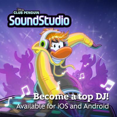 Club Penguin: SoundStudio