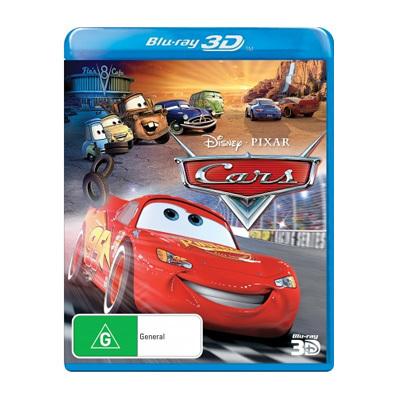 Cars Blu-ray $29.95