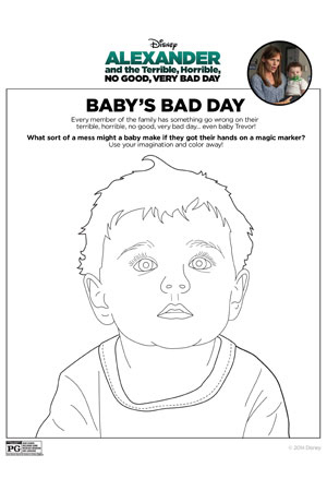 Alexander Activity - Baby's Bad Day