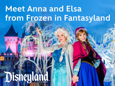 Meet Anna and Elsa