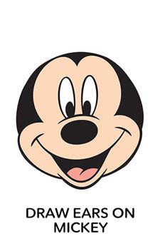 Disney Imagicademy Printable - Draw Mickey Ears