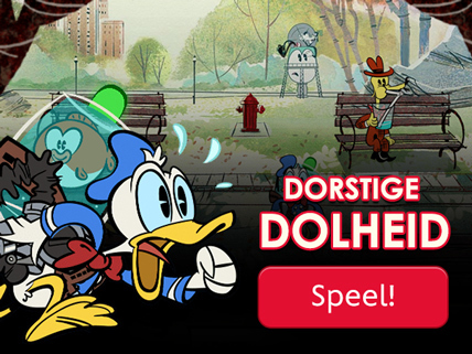 Donald Duck Dorstige Dolheid