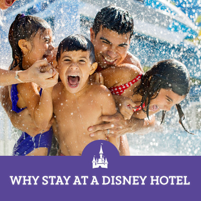 Why Stay at a Disney Hotel