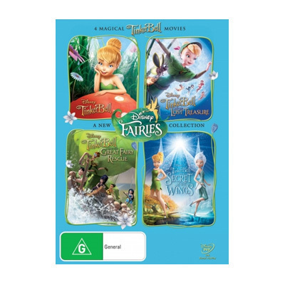Tinker Bell DVD Collection $48.95