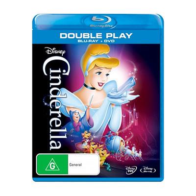 Cinderella Blu-ray & DVD $29.95