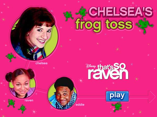 Chelsea's Frog Toss