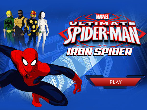 Iron Spider Ultimate Spider-Man Products