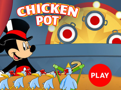 Mickey Mouse - Chicken Pot
