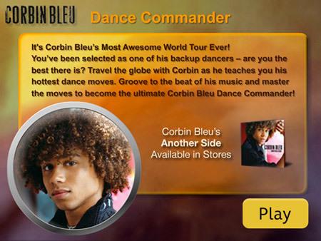 Corbin Bleu Dance Commander