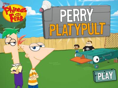 Perry's Platypult | Disney LOL - photo#17