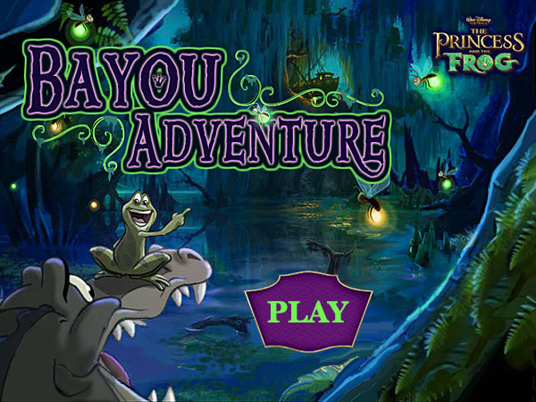 Princess and the Frog - Bayou Adventure