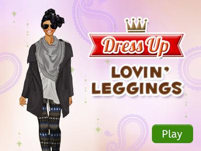 Style Copier Lovin Leggings Disney Games