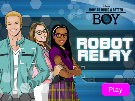 How to Build a Better Boy: Robot Relay