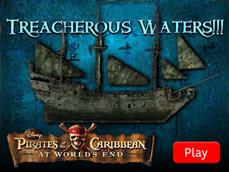 Pirates of the Caribbean - Treacherous Waters