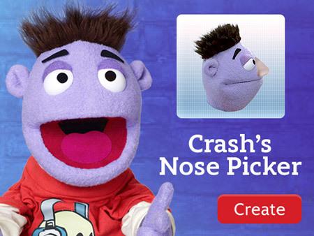 Crash and Bernstein - Crash's Nose Picker