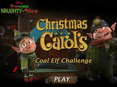 Christmas Carol's Coal Elf Challenge