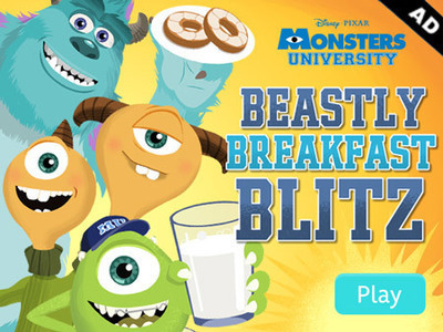Monsters University - Beastly Breakfast Blitz