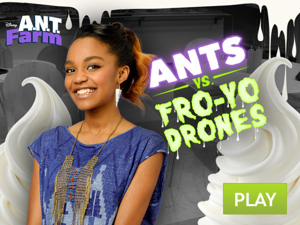 ANTs vs. Fro-Yo Drones