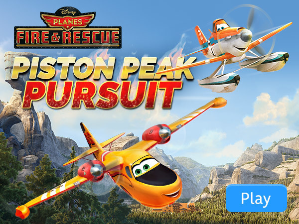 Planes Fire & Rescue: Piston Peak Pursuit