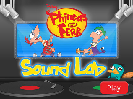 Phineas and Ferb - Sound Lab